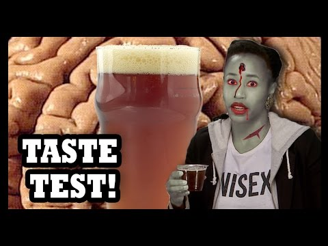 Why Would You Drink… Walking Dead Beer with Brains in It? - Food Feeder