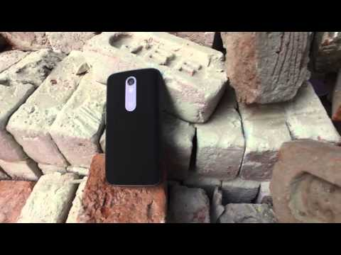 Motorola Moto X Force Unboxing and Hands On, Shatterproof Drop Test India - iGyaan