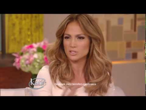 Jennifer Lopez Defends Age Difference With Beau - Katie Couric Show 14/9/12 HD