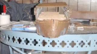 Cardboard Titanic Construction video 1