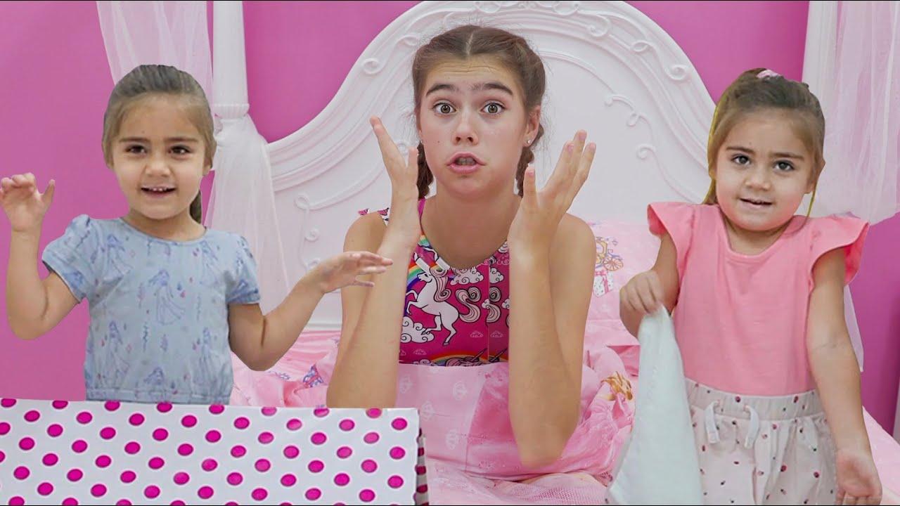 Download Nastya gibt vor, mit echten Zwillingen zu spielen