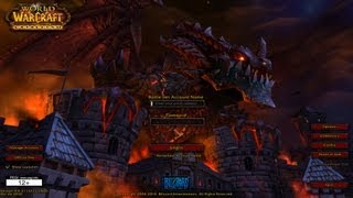 Login Screen - Cataclysm Music