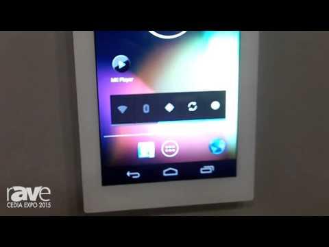 CEDIA 2015: Zykronix Displays New 5.5″ In-Wall Display Unit