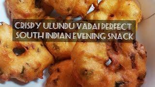 Ulundu vadai / Urad dal vada Tasty and crispy South Indian Snack - Master Piece # 49