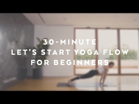'Lets Start Yoga' Flow for Beginners with Jessica Olie - Alo Yoga