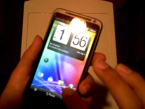 Overview and Tour of the HTC EVO 3D Android 2.3 GingerBread mobile SmartPhone (Rogers Mobile)