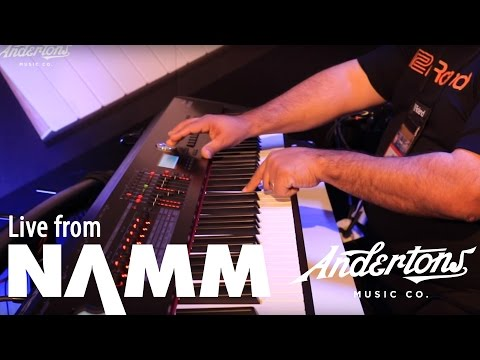 Roland RD2000 Demo at NAMM 2017