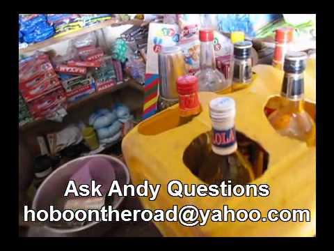 Small Alcohol Shot Bar Inside Togo Africa Corner Store