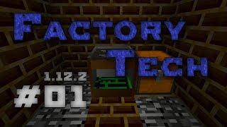[Обзор][1.12.2] Factory Tech - Фабрика без энергии - S6-EP01