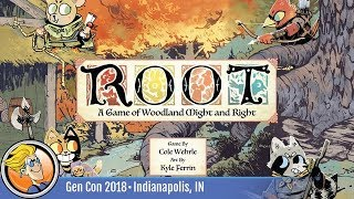 Root — game preview at Gen Con 2018