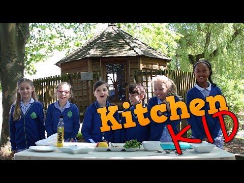 Make Chickpea Salad With St Joseph's Blast Off Kitchen - LitFilmFest Kitchen Kid - BBC Good Food