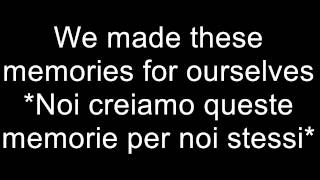 Ed Sheeran   Photograph  -- sottotitoli inglese-italiano subtitle English-Italian
