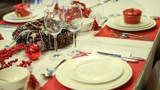 Feestdagen Kersttafel Aankleden : Kerstdecoratie op tafel parksidetraceapartments