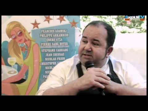 Épicuriales 2011, Interview de Christophe Girardot « La Table de Montesquieu »