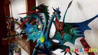 Alebrijes de Oaxaca. Artesania de Mexico