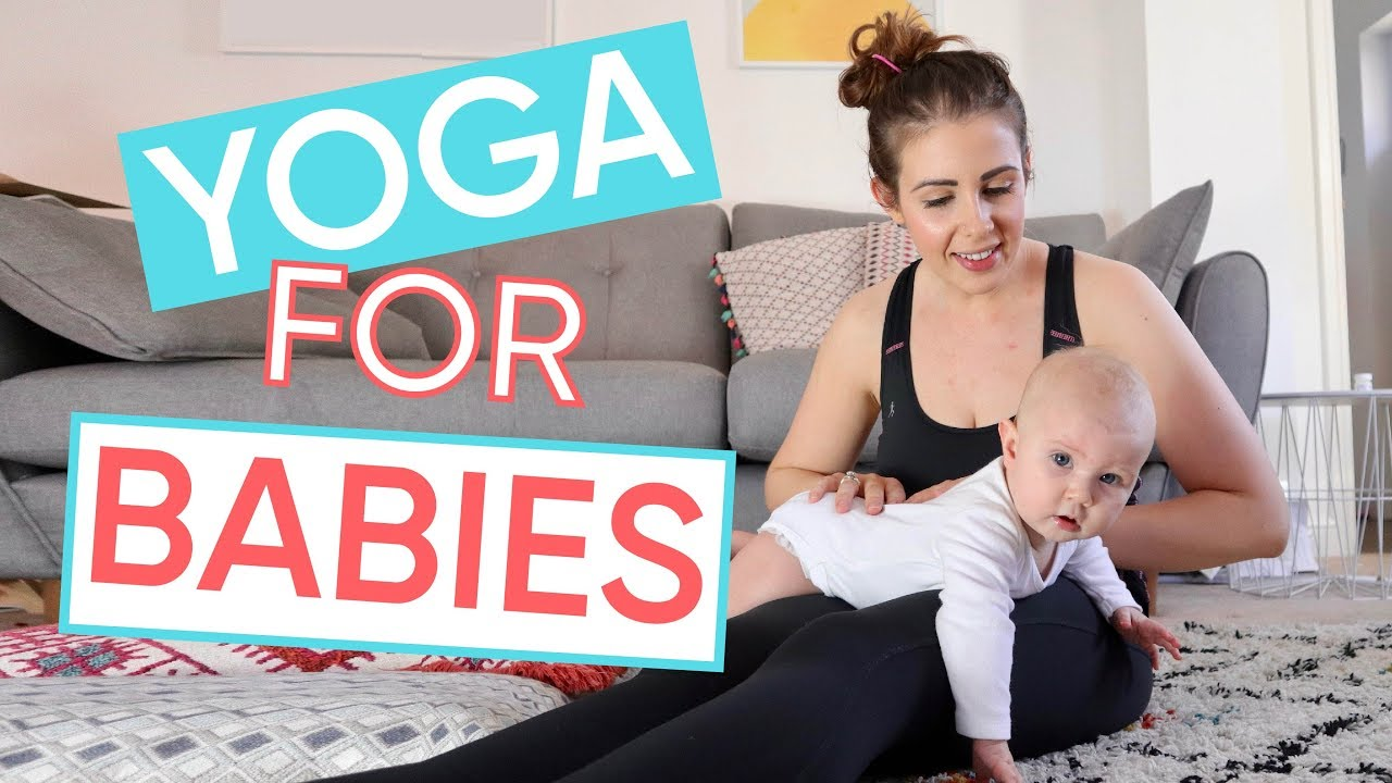 The Best Baby Stretches 1 Minute Yoga For Babies Channel Mum Youtube