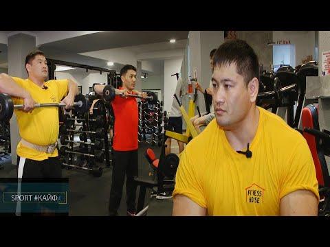 КРнын бодибилдинг боюнча чемпиону Эмил Надырбаев