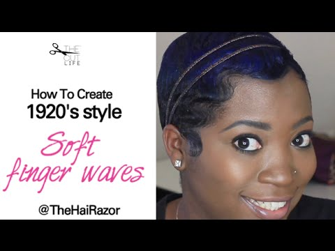 How To: Soft, Finger Waves
