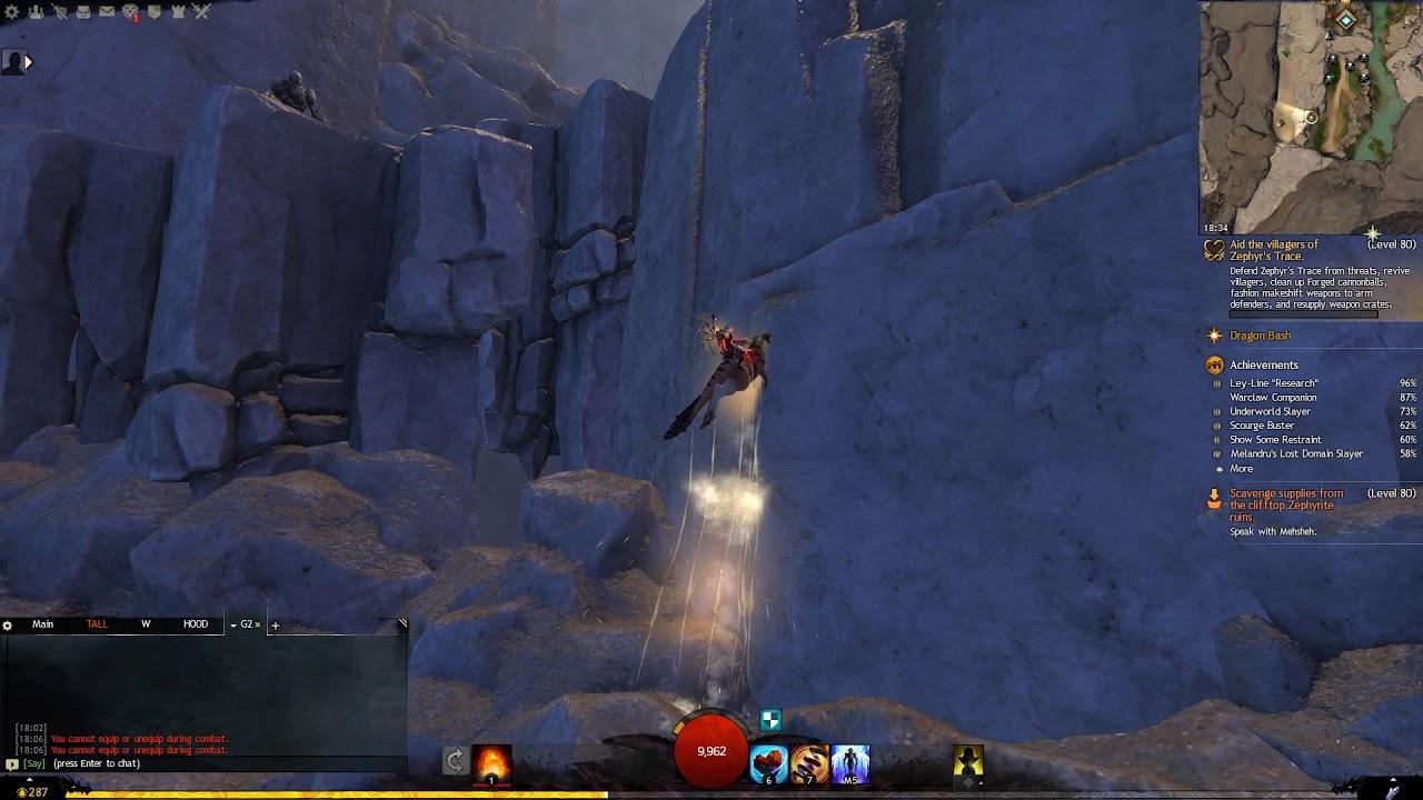 Guild Wars 2 - Priory Historian Elisa location  Week 28 (Crystal Oasis)