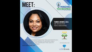 Meet Fruitful Vision Enterprises ceo & author, Tamika Jacques Ph.D (Massachusetts)