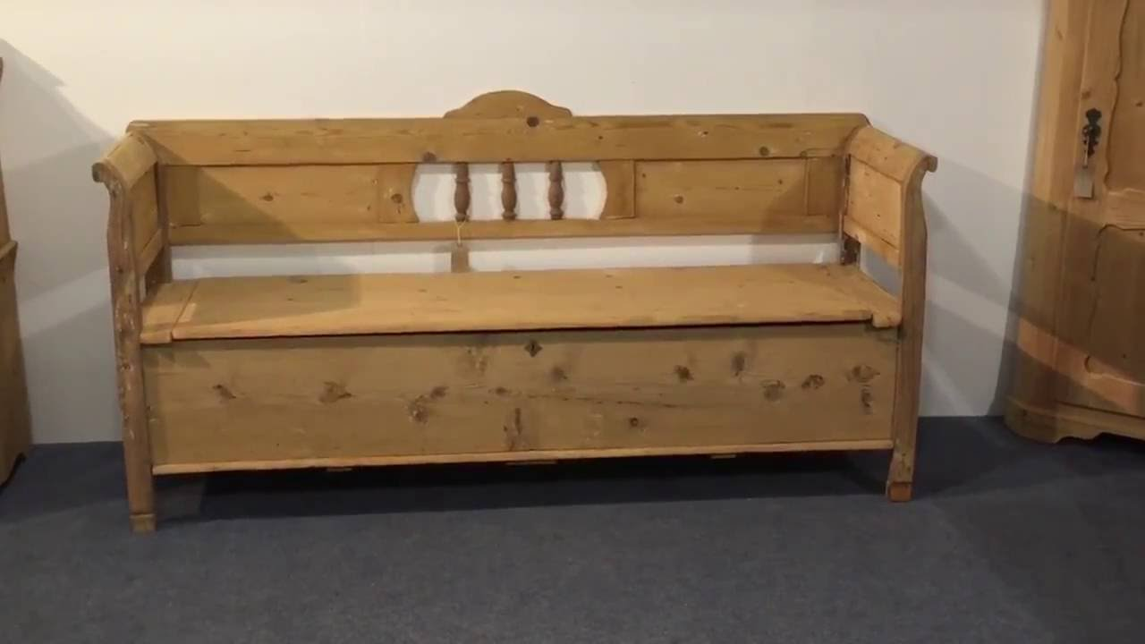Large antique pine bench for sale - Pinefinders Old Pine Furniture Warehouse - Large Antique Pine Bench For Sale - Pinefinders Old Pine Furniture