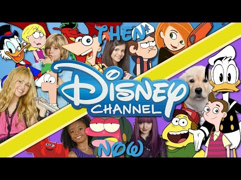 Disney Channel Then And Now (2019)