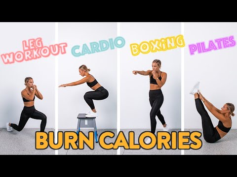 What Workout BURNS THE MOST CALORIES!? The Ultimate Workout Experiment! - Sarahs Day