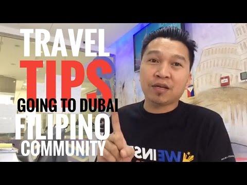 TRAVEL TO DUBAI TIPS AND FILIPINO COMMUNITY UPDATE (via FB Live)