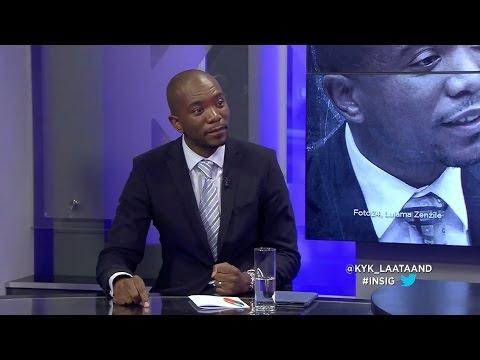 INSIG: Debat - Mmusi Maimane en Dr. Wilmot James, Deel 1