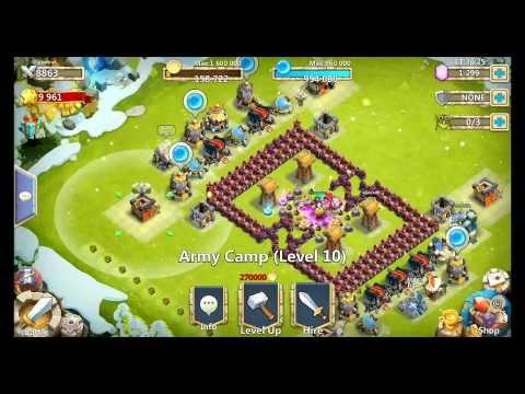 Castle Clash HBM Wave D Custom Double D Design (Here Be Monsters)