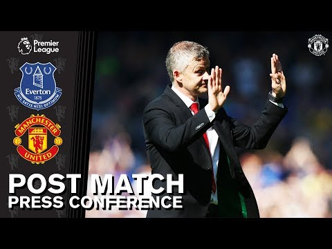 Post Match Press Conference | Everton 4-0 Manchester United | Ole Gunnar Solskjaer