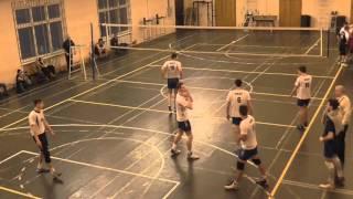 Волейбол. Студенческая Суперлига (муж) МАДИ-РГУФК (3:1) 29-02-2016