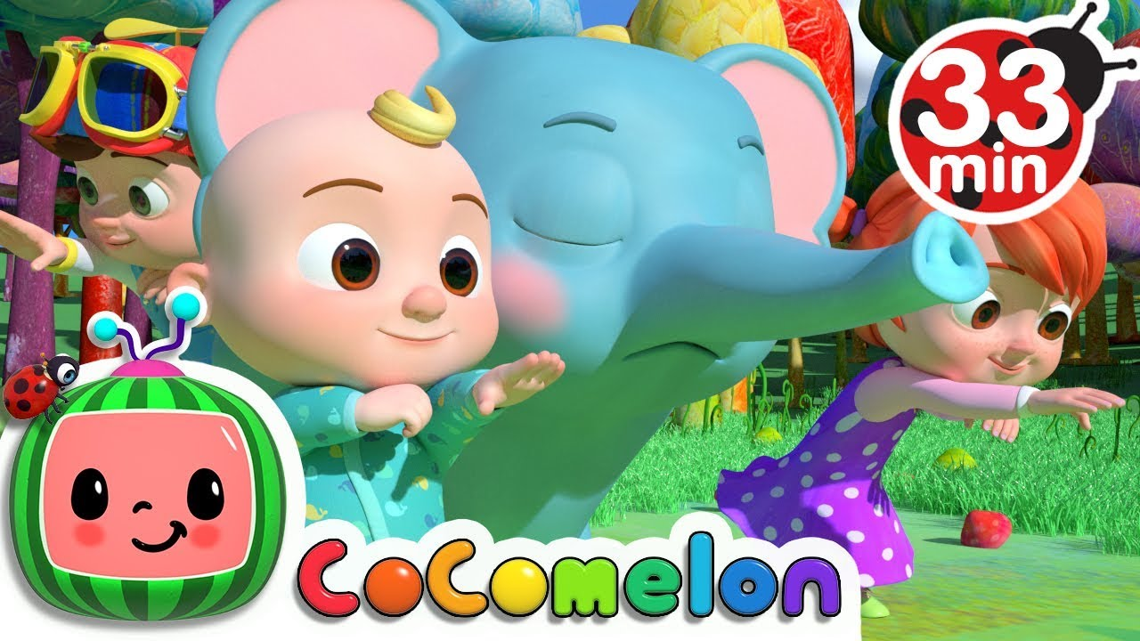 Animal Dance + More Nursery Rhymes & Kids Songs - CoComelon