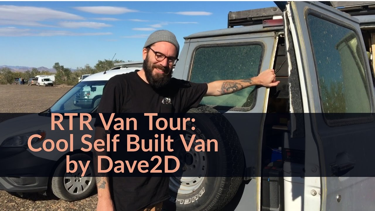 Van Tour At The 2017 Rubber Tramp Rendezvous Cool Self