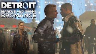 Markus and Simon Bromance - DETROIT BECOME HUMAN
