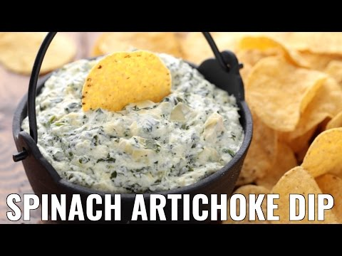 Appetizers: Spinach And Artichoke Dip Recipe - NatashasKitchen
