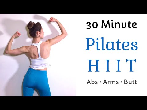PILATES HIIT WORKOUT | Tone Your Abs, Butt, & Arms