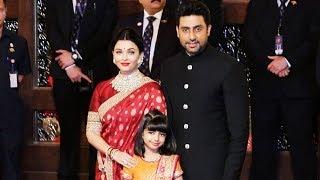 Baixar Aishwarya Rai Bachchan Look So Royal With Abhishek And Aaradhya At Isha Ambani's Wedding Ceremony