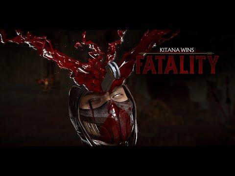Mortal Kombat 11   Kitana Gameplay