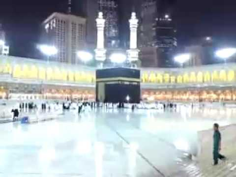 Rain In Holy Kaaba 24 Jan 2009