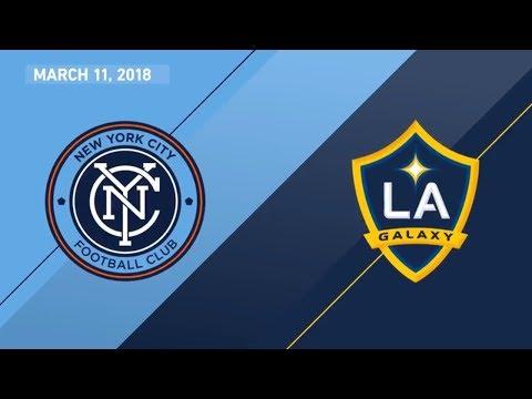 HIGHLIGHTS: New York City FC vs. LA Galaxy | March 11, 2018