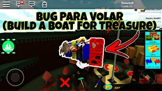 TIP TO FLY IN BUILD A BOAT FOR TREASURE! (ROBLOX)