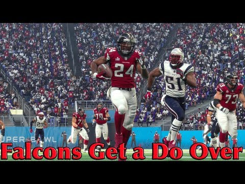 Madden 18 | Falcons Get a Super Bowl Do Over | Come Back From This