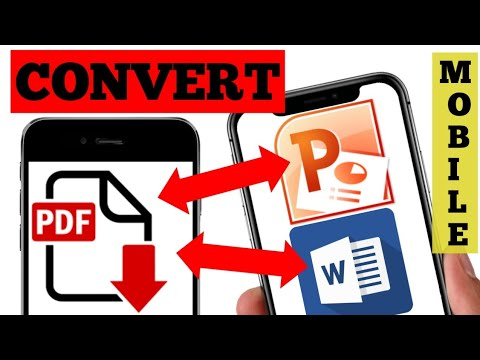 How to convert ppt to pdf | pdf to ppt | pdf to word | how to set pass on pdf | pdf to exel