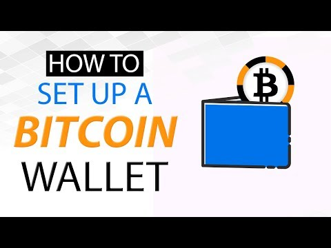 How To Setup A Bitcoin Wallet- Bitcoin Tutorial - How To Get A Wallet And Your First Bit Coins