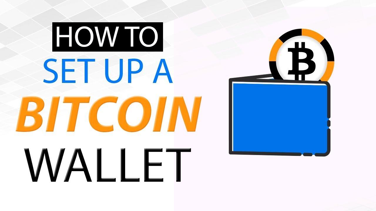 setting up a bitcoin wallet