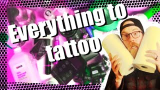 Tattoo Preparation.✅ Everything you need to tattoo
