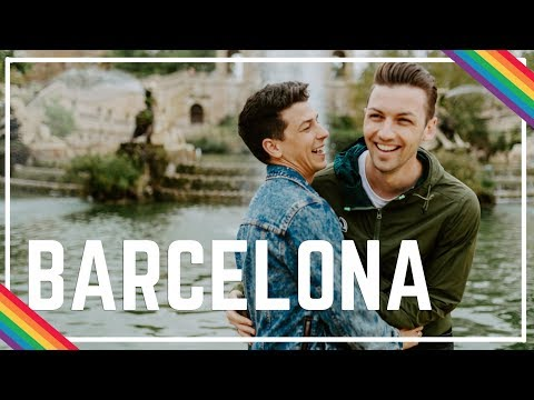 EATING EVERYTHING IN BARCELONA | Michael & Matt Gay Travel