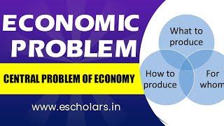 #3 | microeconomics | Central problems of economy
