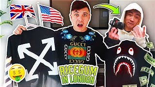BUYING $20,000 OF CLOTHES IN A DAY CHALLENGE